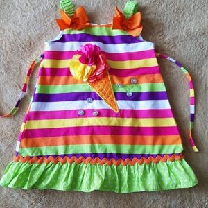 YOUNGLAND multi color dress for toddler size 2T